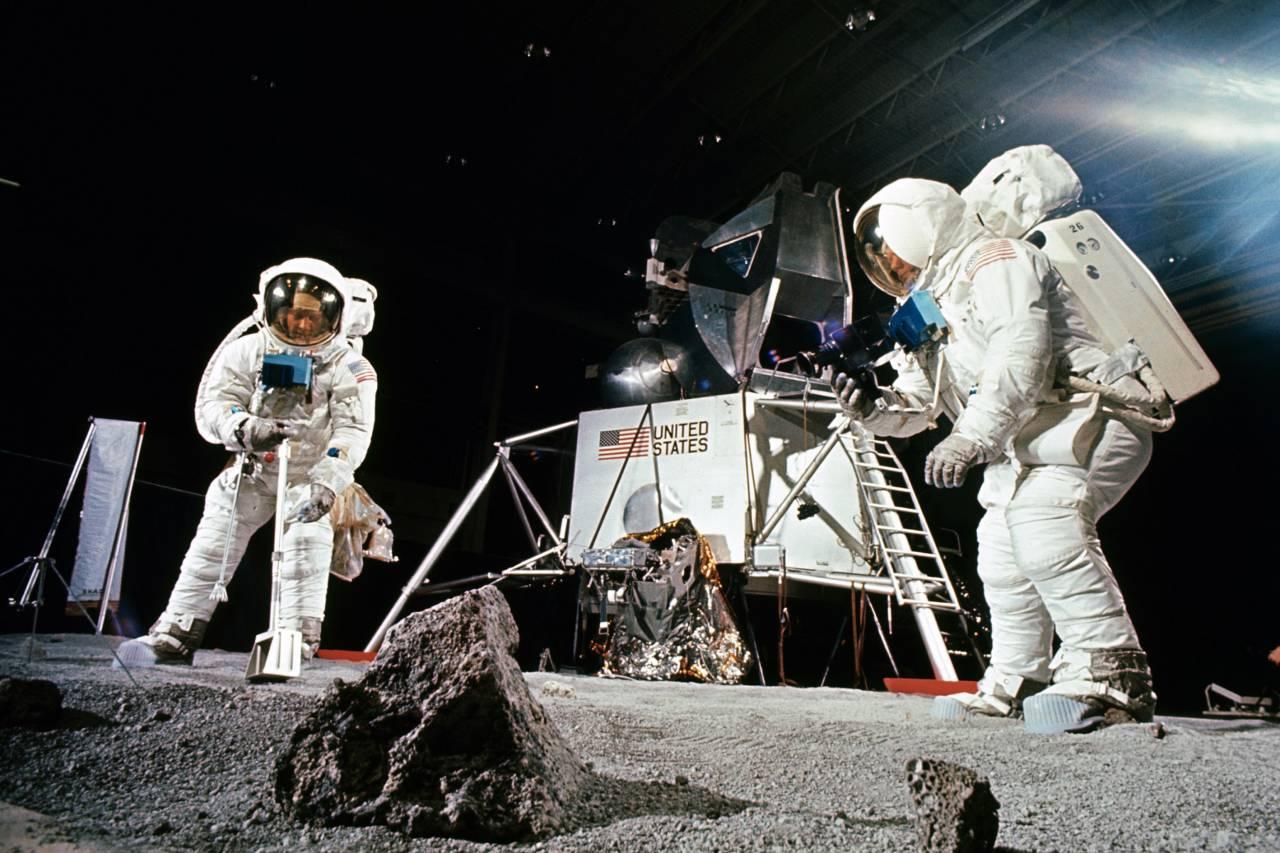 Entrainement des astronautes Apollo