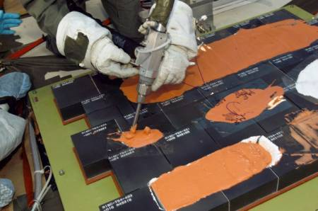 space shuttle tile glue - photo #41