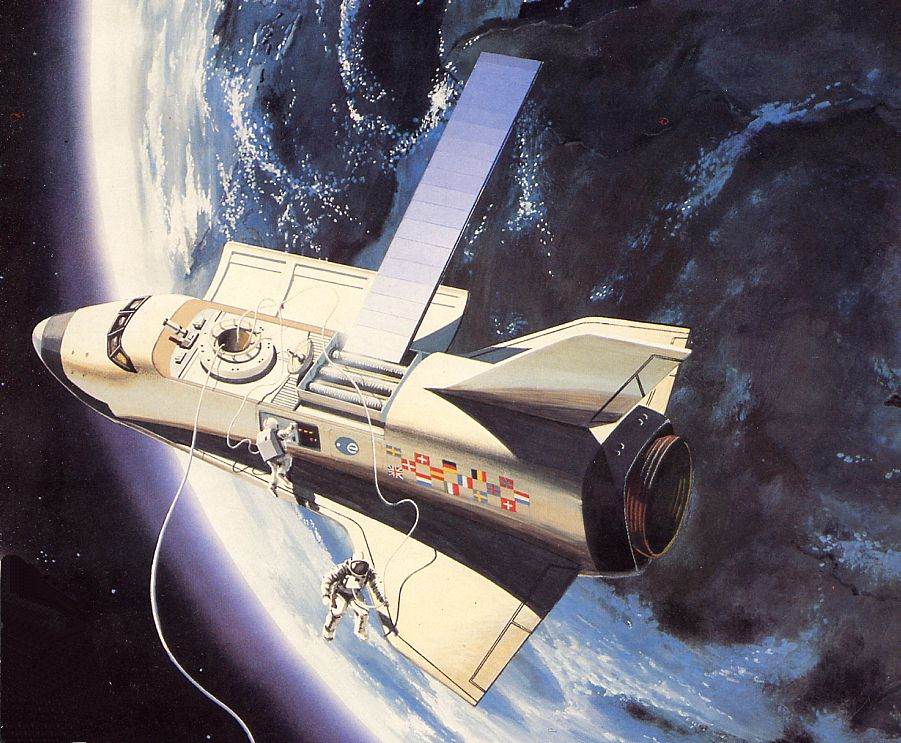 hermes space shuttle - photo #2