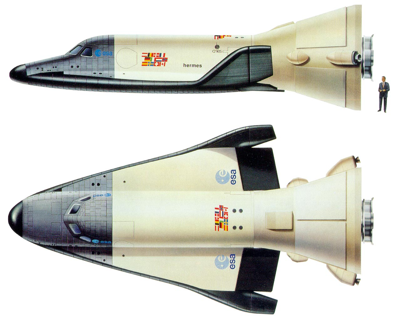 hermes space shuttle - photo #24